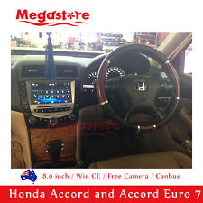 """8"""" Honda Accord/Euro 2003 -2007 Car DVD GPS Stereo Player Head Unit dual air"""
