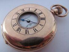Reloj De Bolsillo Vintage media Hunter Entubado Rolex