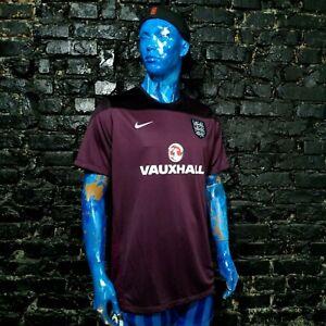 England Team Training Jersey Football Shirt Nike Polyester Trikot Mens 2XL