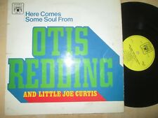 Otis Redding & Little Joe Curtis Here Comes Some Soul From Otis Vinyl LP Album