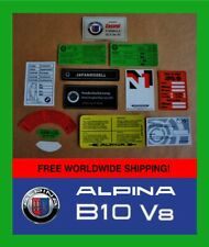 ALPINA B10V8 Sticker set Decal set Aufkleber BMW E39 B10 3,3 Japan Import B10V8S