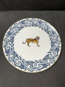"""Williams Sonoma Tiger Hard to Find 11"""" Plate"""