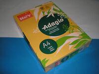 500 Bl. Kopierpapier goldgelb REY Adagio A4 80g matt 70 % PEFC farbig NEU&OVP