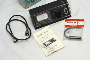 Micronta Field Strength and SWR Tester Model 21-525B Radio Shack