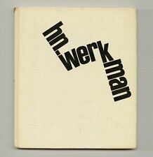 1967 Fridolin Muller H. N. WERKMAN fine Dutch Avant-Garde TYPOGRAPHY Monograph