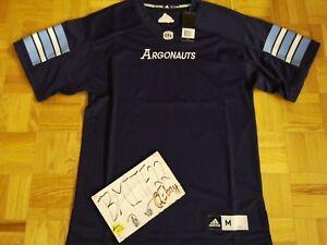 NWT Toronto Argonauts CFL Adidas Authentic Premier Jersey Men Medium