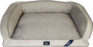 Serta Extra Large Dog Memory Foam Couch Foam Fill Plush Sleep Surface Pet Bed