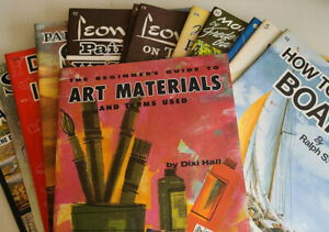 Walter Foster - How To Instructional Guide Books- Art, Drawing and Painting, etc