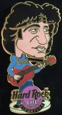 Hard Rock Cafe SINGAPORE 2000 10th Anniversary ROCK STAR PIN - Bob Dylan #8847