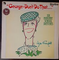 "JOYCE GRENFELL ""George - Don't Do That"" 1977 LP UK Import Comedy + FREE SHIPPING"