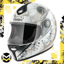 Casco Oro e Perla Integrale XL in Fibra Multiassiale Look Bianco Shark Moto