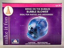 Plan A Party Bubble Blower NIB. Ideal For Weddings and Parties Free Shipping