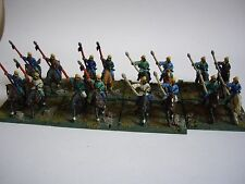 16 painted 15mm ancient Chinese chin Han light cavalry by essex for DBMM FOG