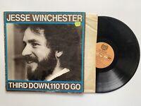 Jesse Winchester Third Down , 110 To Go Vinyl Album Record LP