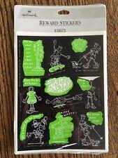 Vintage 1980s Fido Dido Cartoon Comic Hallmark Stickers, 8 Sheets 80 Items BNIP