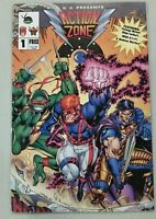 CBS Presents Action Zone #1 comic TMNT Wildcats Skeleton Warriors Crossover VFNM