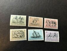 luxembourg stamps scott 280-285 mnhog scv 50.00 a1233