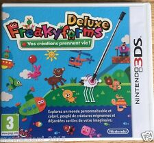 FREAKYFORMS DELUXE 3DS Nintendo Video Game Original PAL Release for UK NEW