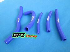 For SUZUKI RM125 1996-2000 RM 125 96 97 98 99 00 silicone radiator hose BLUE