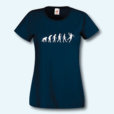 Damen T-Shirt, Fun-Shirt, Evolution Handball, Ballsport, Mannschaft, Sport