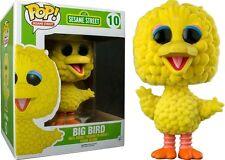 BIG BIRD OVERSIZED Flocked Limited Funko POP!Sesame Street 15cm OVP Sesamstraße