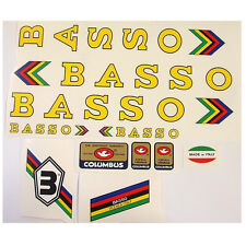 Basso set of decals vintage for campagnolo choice of color