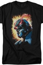 DC Comics Darkseid Omega Ray Rage Eyes JLA Justice League Licensed Adult T-Shirt