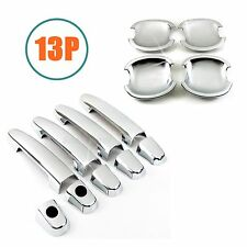 Accessories Chrome Door Handle + Bowl Covers For 2001-2007 Toyota Highlander