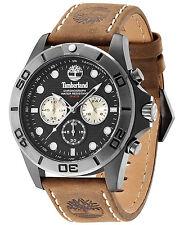 Timberland Men's Northfield Brown Leather Strap Watch 45x65mm TBL13909JSBU02