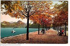Alpnachstad AK 1913 Allee Passanten See Alpnach Schweiz Suisse Svizzera 1509506