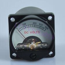 Panel Meter Analog DC1000V Warm Back Light Volt Voltage Voltmeter Audio Tube AMP