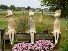 Kantenhoker Set 3 Mädchen SABO DESIGN LESS COLOURS 45 cm Haus & Gartendekoration