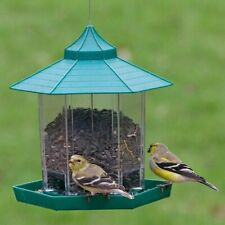 Vogelfutterspender Vogelfutterstation Futterhaus Vogel Futter hängend Häuschen