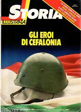 STORIA ILLUSTRATA=N°322 9/1984=GLI EROI DI CEFALONIA=MAO=DRAKE IL CORSARO=ILDUCE