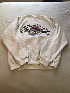 Vintage 1998 Indy 200 Disney Sportswear Mens Sweatshirt XL