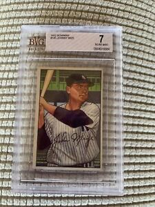Johnny Mize 1952 Bowman #145 (BVG 7)