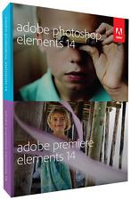 Adobe Photoshop Elements 14 + Premiere Elements 14, deutsch Vollversion Win/MAC