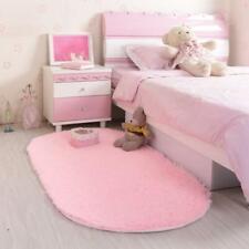 Soft Oval Alfombras Carpet Faux Fur Area Rug Slip Resistant Floor Mats For Parlo