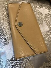 OROTON Melanie Leather Travel Wallet/Clutch RRP Caramel