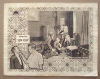 THE DUB Ralph Lewis WALLACE REID 11x14 Lasky 1919 SILENT MOVIE LOBBY CARD