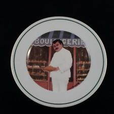 """Guy Buffet L'Etalage Collection  Shopkeepers The Bread Maker 7 3/4"""" Plate"""