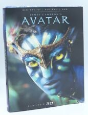 Avatar 3D  [2016]  Blu-ray 3D+Blu-ray+DVD with Rare OOP Lenticular Slipcover