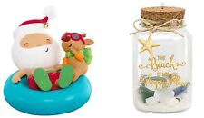Hallmark 2015  2016 Fun In The Sun  KOC Kansas Event A Day at the Beach lot of 2