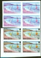 Montserrat 1986 Windsurfing/Sailing 70c PROOF BLOCKS-1