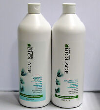 Biolage VolumeBloom Shampoo Conditioner 33.8 oz Liter Duo Set Matrix Volume