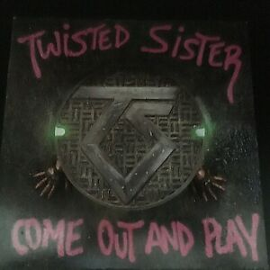 TWISTED SISTER COME OUT AND PLAY POP-UP WARNER 81275-1-E VG+ SP PRESS