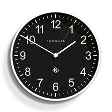 Extra Large Round Modern Newgate Professor Wall Clock Black and White 60cm