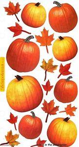 AUTUMN PUMPKINS Sticko Stickers - Pumpkin Harvest Halloween