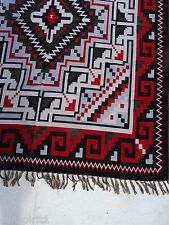 Accent Throw Afghan OACCENT-2B Southwest Southwestern Geometric Design 4' X 5' B