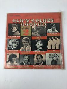 "Rare Various Artists ""Old 'n' Golden Goodies Volume 2"" stereo vinyl LP"